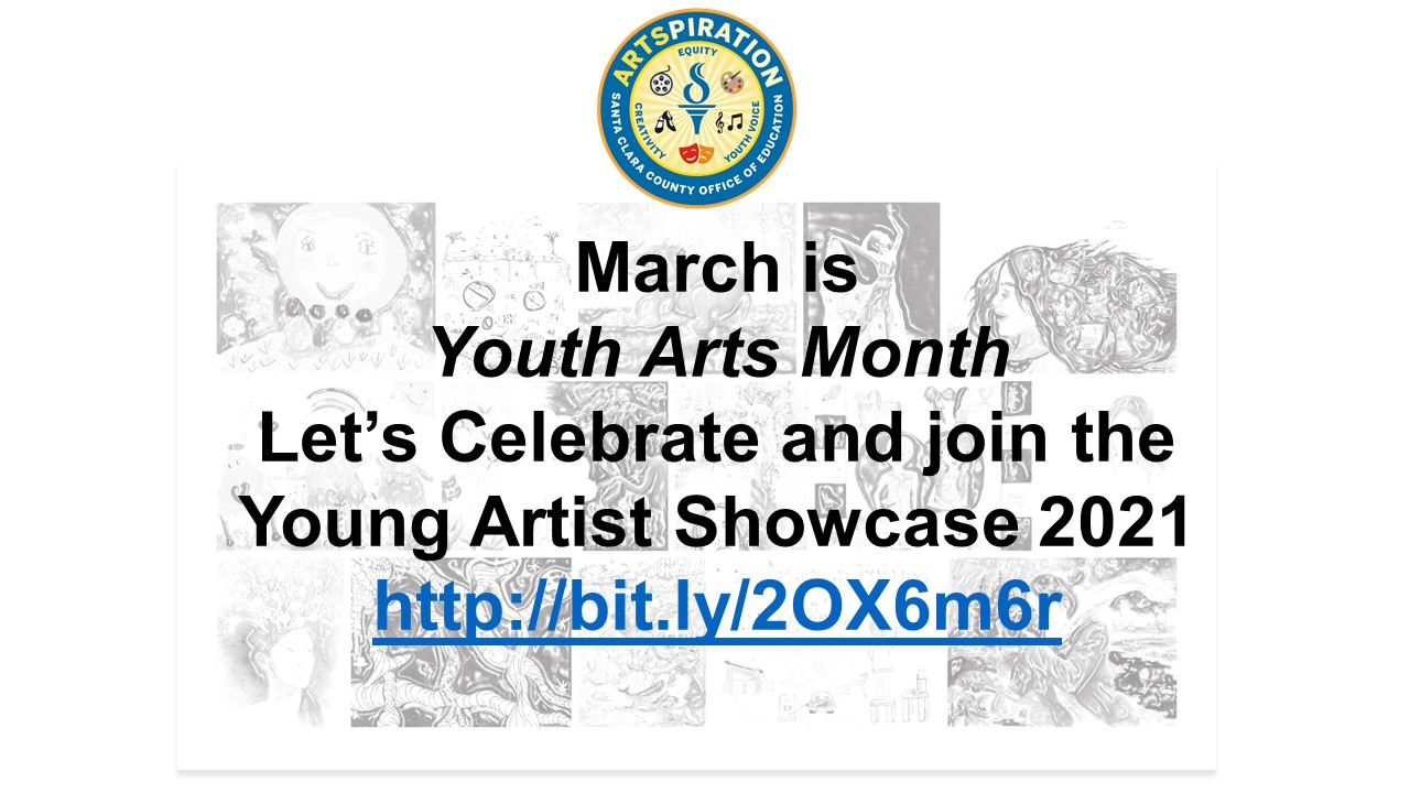 March is Youth Arts Month Visit Young Artist Showcase website
