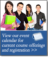 Clickable image to go to Educational Services training courses calendar