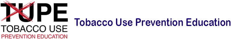 Tobacco Use Prevention Education banner
